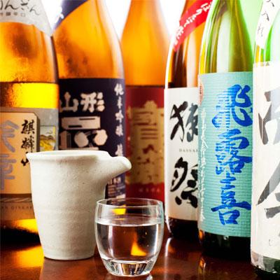 料理に合った季節限定日本酒