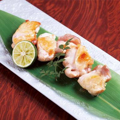 阿波尾鶏のあみ焼き